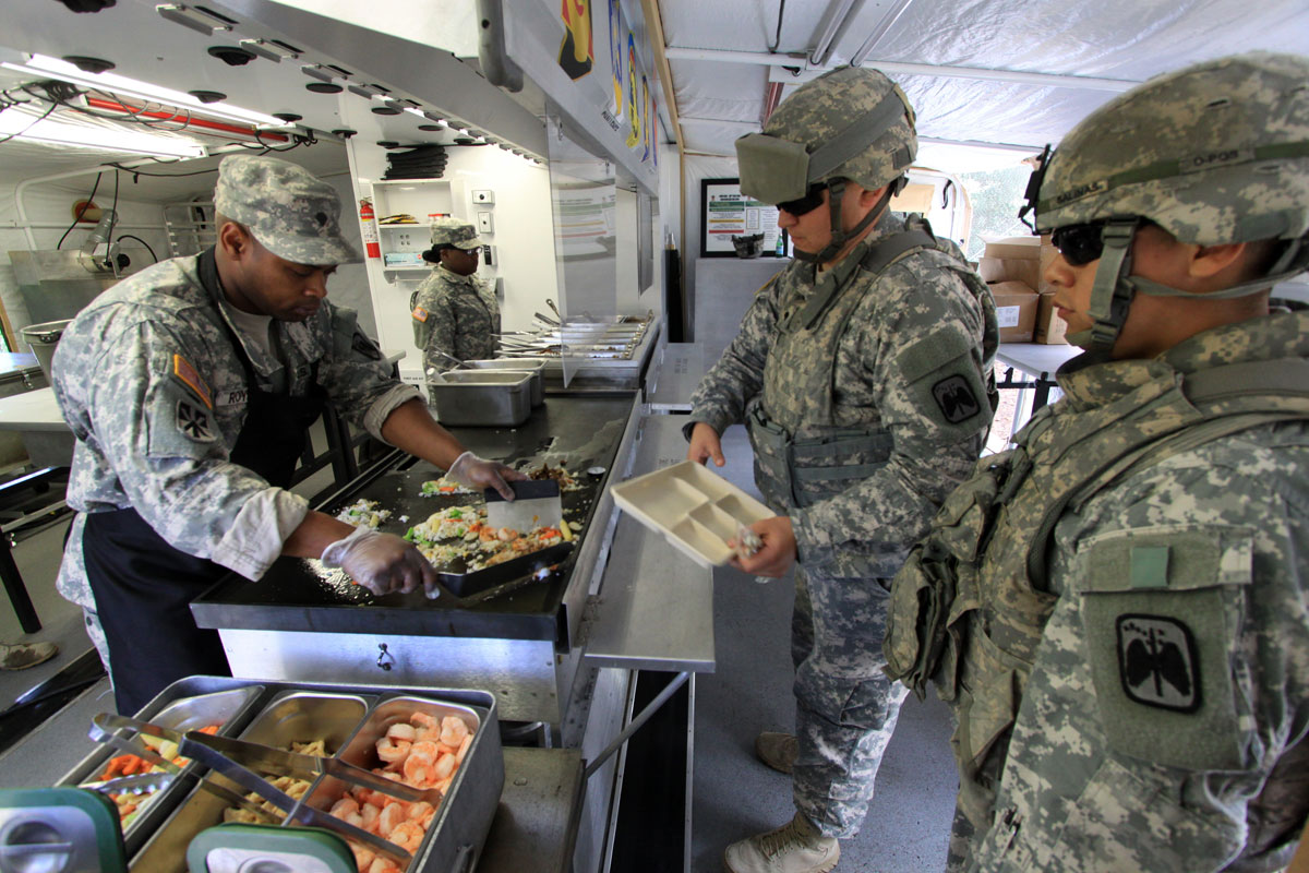 How The Military Has Shaped The Way Restaurant Kitchens Operate Today
