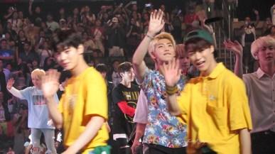 BTS Astro Monsta X closing KCon LA 16 6759kcj