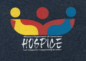 T-Shirt for Trainees, designed via a contest at Jefferson City Correctional Center