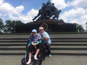 Washington DC Marjorie and Patty Levine