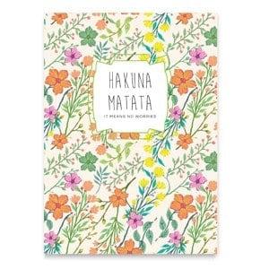 Jewels by KC cadeaukaart 'HAKUNA MATATA'