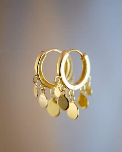 Gouden-Oorbellen-Beads-van-Goud-op-Zilver