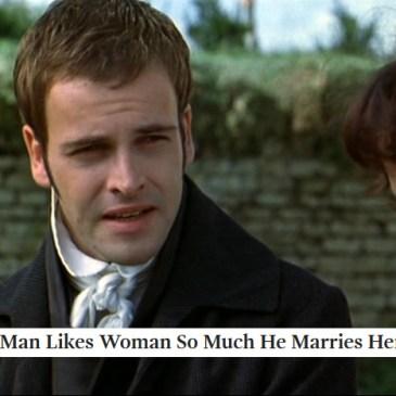 Austen + The Onion: Mansfield Park