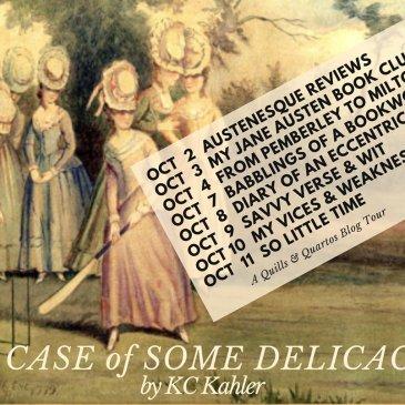 A Case of Some Delicacy Blog Tour runs October 2-11!