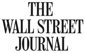 Logo for The Wall Street Journal newspaper.