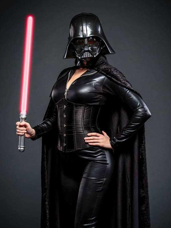Vixen Kitten as Darth Vader