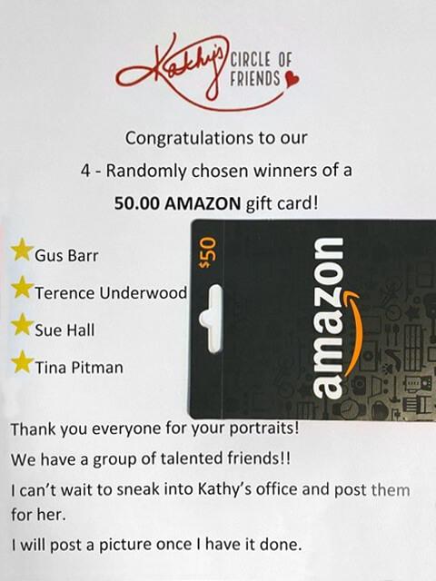 Portrait Entry - Amazon Gift Card Winners