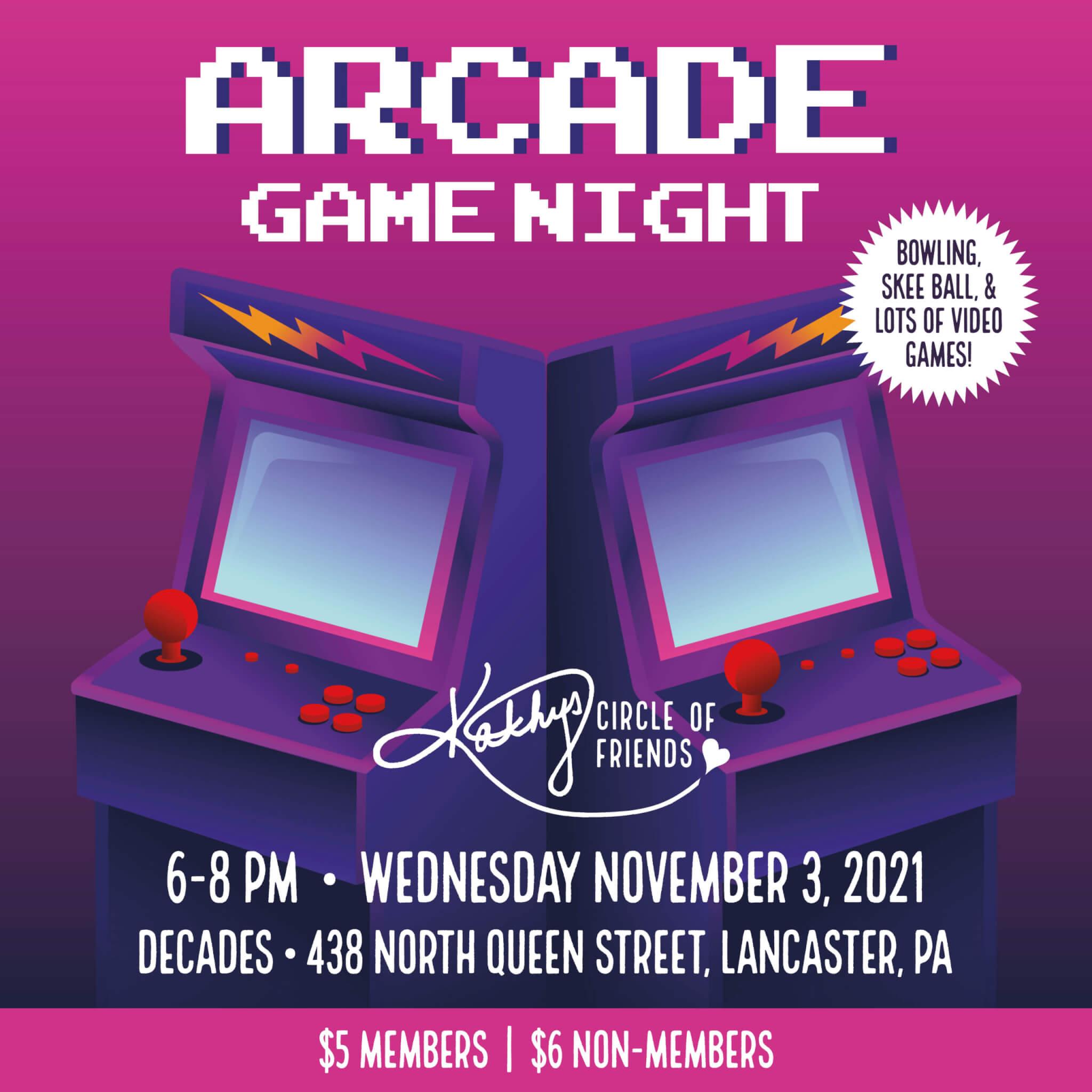 Arcade Game Night!