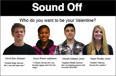 Sound Off: Who do you want to be your Valentine?
