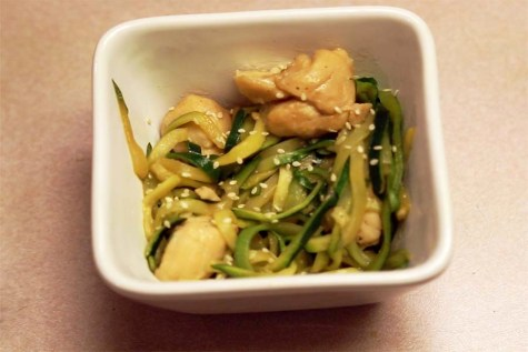 Papa in the Kitchen: Eat your Zoodles