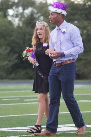 Surprise and Lockridge win Homecoming royalty