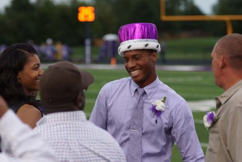 Emmett Lockridge named king and Zoe Surprise, well … surprised