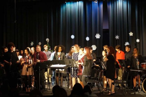 Christmas is here with the Winter Band Concert