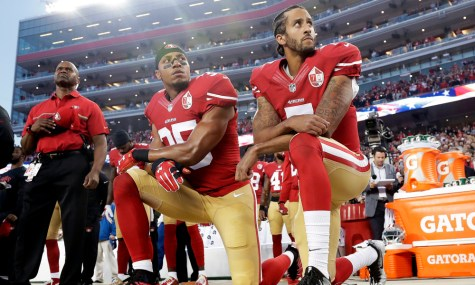 National Anthem protests spark controversy