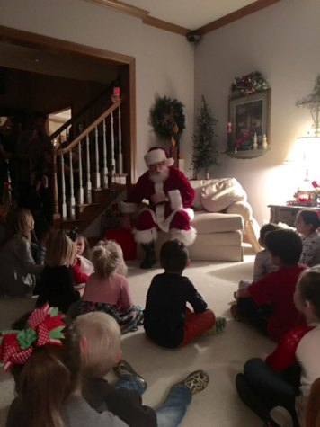 Students celebrate the holidays with their special family traditions