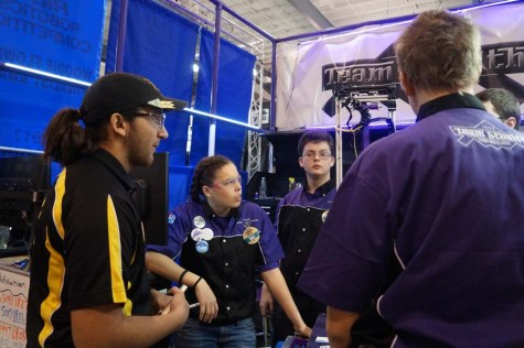 Robotics team competes at tournament