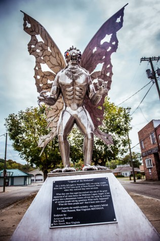 Mothman legend keeps Point Pleasant tourism alive as tourists attempt to unravel mystery