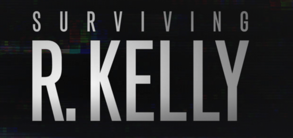 R. Kelly flag for the docu series on Lifetime.