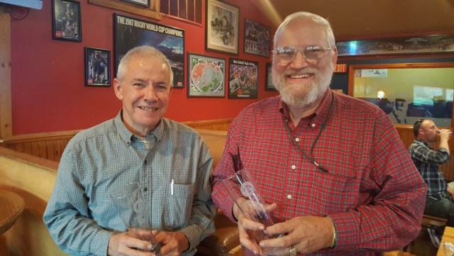 Saturday's Winners – Jim Duea and Jack von Kaenel