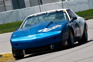 Jim Wheeler in his Firebird at the Kansas Speedway