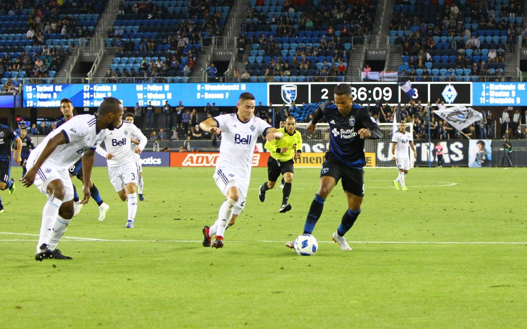 First Half Goals Not Enough as Quakes Succumb to Whitecaps Comeback
