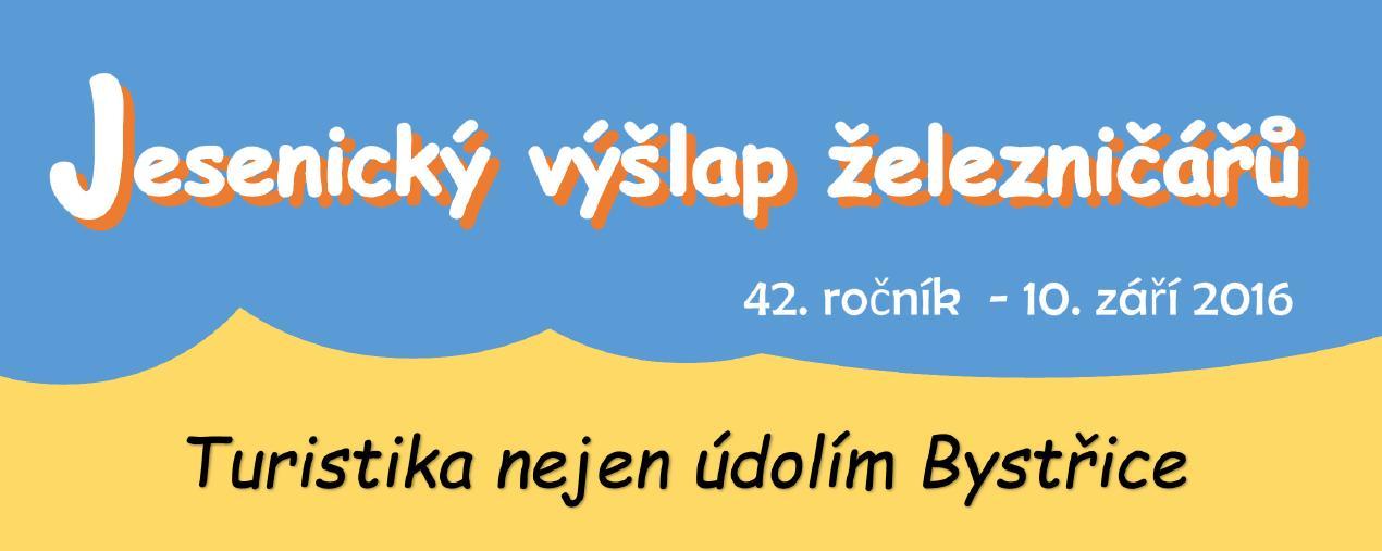 Jesenický výšlap železničářů údolím Bystřice do Hrubé Vody - 10.9.2016