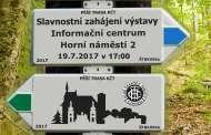 KČT Šternberk a historie turistiky - zahájení výstavy - 19.7.2017