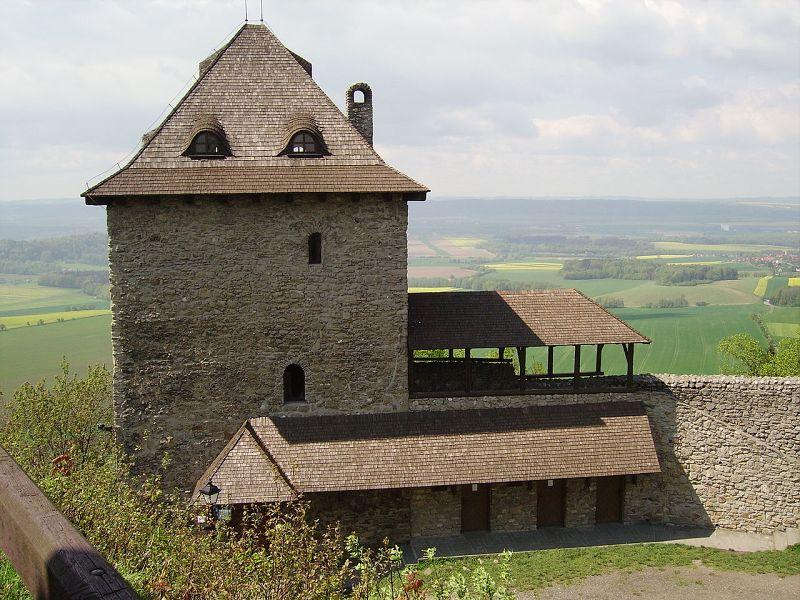 Podbeskydím na zříceninu hradu Starý Jičín - 11.8.2018