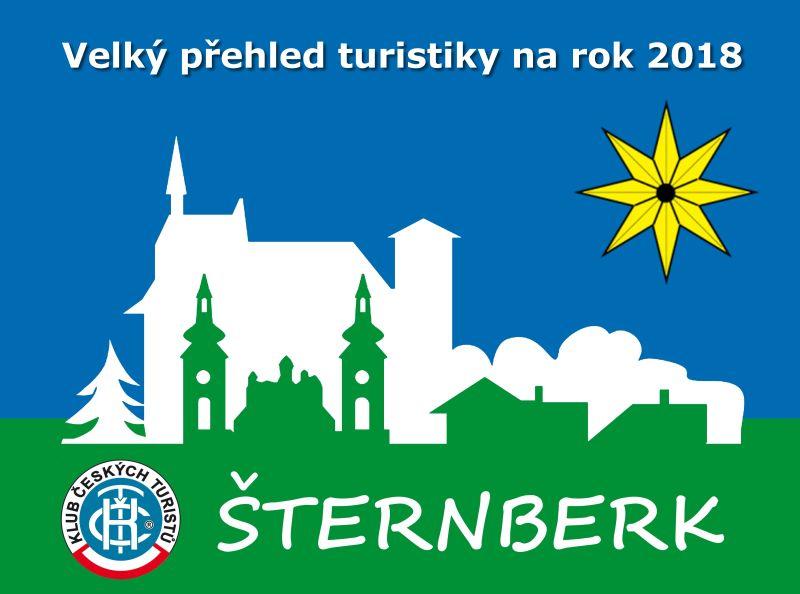 Velký přehled turistických pochodů a výprav na celý rok 2018 s KČT Šternberk