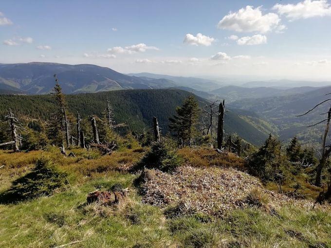 Jesenická horská túra byla plná slunce a výhledů