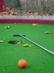 Cuento del mini golf