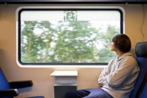 cuento del ciego en el tren