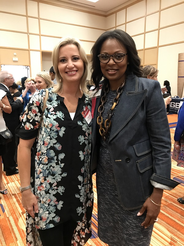 Kelly Schulz and Stephanie Williams, President, Bozzuto