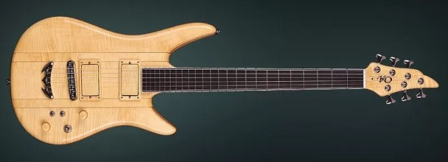 "Unique Guitar ""Evolution""- Fine Handcrafted Custom Electric Guitar"