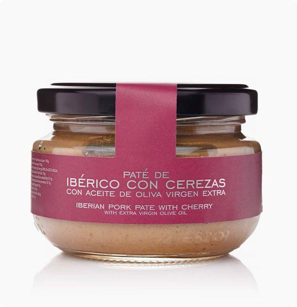 pate de iberico con cereza con aceite de oliva virgen extra la chinata