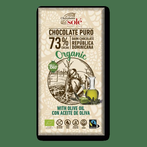 chocolate aceite oliva