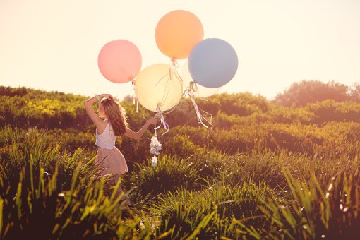 Balloon Photography Shoot