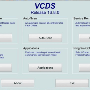 VCDS 16.8 software