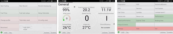 HobDrive OBD2 program za android