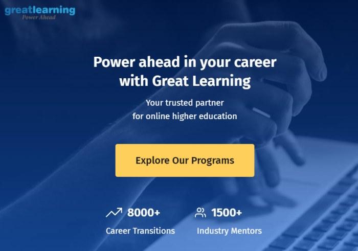 Great Learning Programs