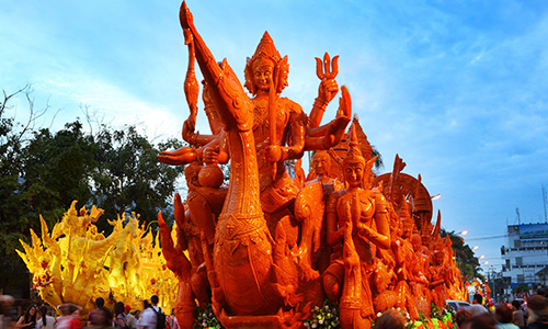 International Wax Candle Festival and Wax Candle Procession, Ubon Ratchathani