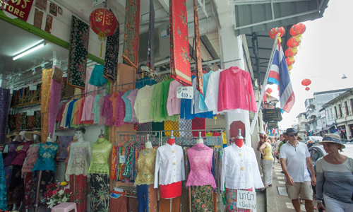 Local shop in Old Phuket Town area