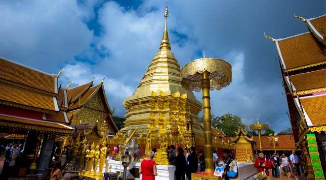 AT Doi Suthep our pocket wifi is best network