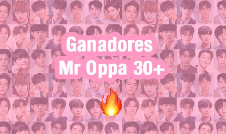 Ganadores Mr Oppa 30