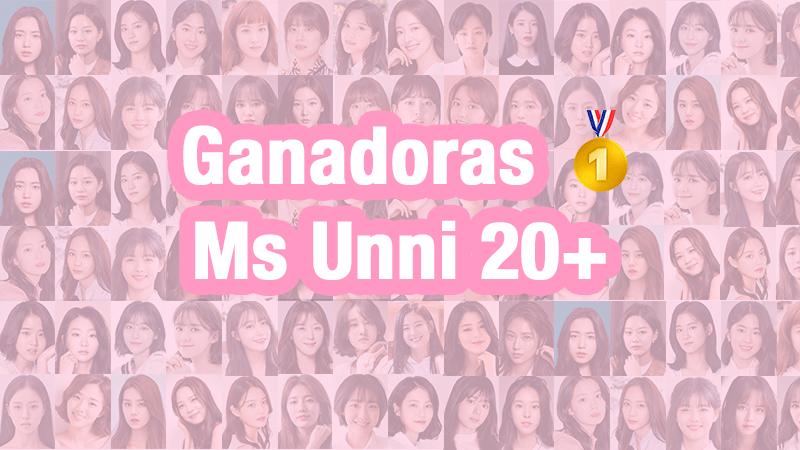 Ganadoras a Ms Unni 20+ 👑