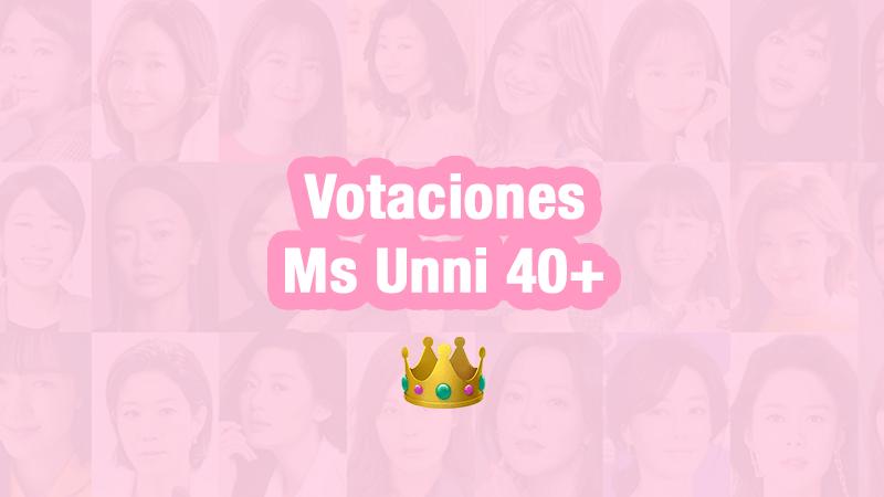 ¡Votaciones a unnis: Ms Unni 40+ !
