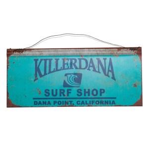 Killer Dana tin plate