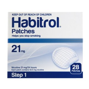 Habitrol Nicotine Patch Step 1 21mg 1 bulk box