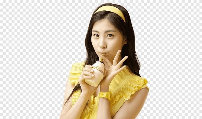 seohyun drink
