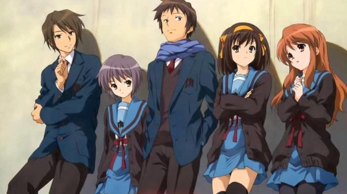 haruhi suzumiya anime
